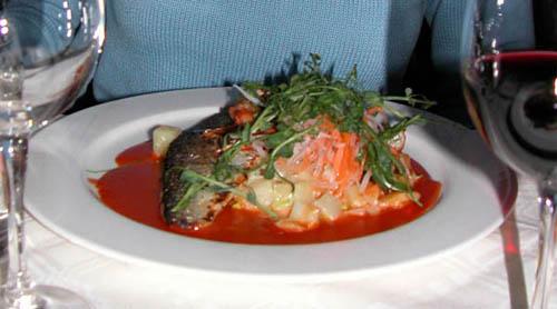 fish dish at Lappi